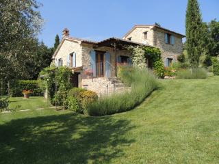 Luxury private villa with swimming pool - Montone vacation rentals