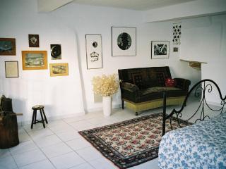 Provencal hilltop village, 'Atelier' for 2 - La Begude-de-Mazenc vacation rentals