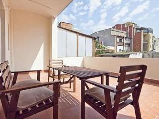 Beautiful apart.w/ terrace next to city center - Barcelona vacation rentals
