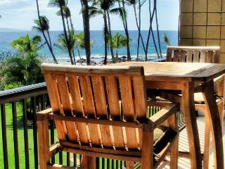 FALL SPECIALS! Ocean Front Air-Conditioned 1-Bedroom Condo at Mana Kai - Kihei vacation rentals