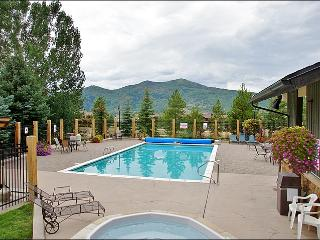 Heated Pool & Hot Tubs, Gas & Charcoal Grills - Ground Floor Unit right by the Pool (4106) - Steamboat Springs vacation rentals