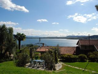 Lake Maggiore breathtaking view romantic apartment - Lesa vacation rentals