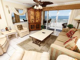 GD 411: beach front, corner unit, amazing views, private patio,FREE BEACH SVC - Fort Walton Beach vacation rentals