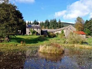 CWM BEDW FARMHOUSE, family friendly, character holiday cottage, with open fire in Abbey-cwm-hir, Ref 12623 - Devil's Bridge (Pontarfynach) vacation rentals