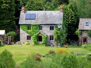 CWM BEDW FARMHOUSE, family friendly, character holiday cottage, with open fire in Abbey-cwm-hir, Ref 12623 - Abbey-cwm-hir vacation rentals