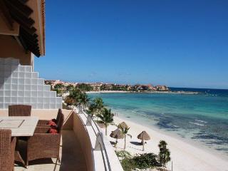 Beautiful Mayan Riviera Beachfront Penthouse - Puerto Aventuras vacation rentals