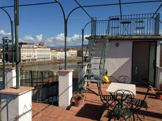 The beautiful view of the Bellosguardo – Lungarno Soderini - Florence vacation rentals