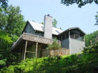 Private setting in the Pocono Mountains - Mountainside Hideaway,walk to pool,hot tub,midweek - Bushkill - rentals