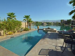 Gem of Terra Lago on Lake w/ Private Dock Pool Spa - Indio vacation rentals