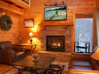 Semi Secluded,30 Mile View,Theater Rm, Gas Firepit - Pigeon Forge vacation rentals