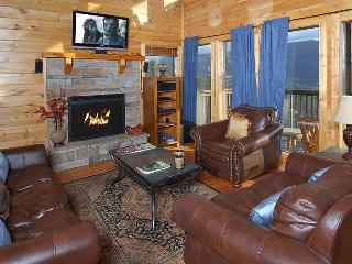 SECLUDED, 25 Mile View, Theater Room,Gas Fire Pit - Sevier County vacation rentals