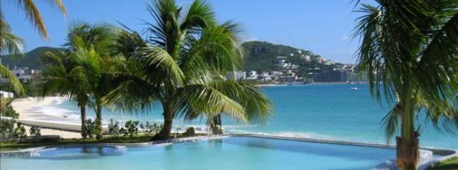 Unforgettable at Las Arenas, Simpson Bay Beach, Saint Maarten - Beachfront, Communal Pool, Ground Fl - Image 1 - Sint Maarten - rentals