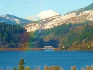 Gorge's Best Viewhouse, downtown HR, VIEWS ! - Hood River vacation rentals