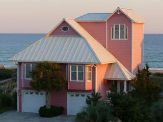 Exterior of House - Sunset Rose - Emerald Isle - rentals