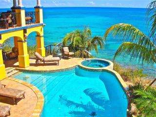WOW!  Oceanfront luxury with fabulous pool & spa ! - Grapetree Bay vacation rentals