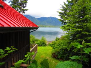 Ocean Dream is a Waterfront 1 bedroom cottage - Tofino vacation rentals