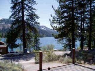VIEW of DONNER LAKE AND MOUNTAINS - Donner Lake Vacation Rentals, LAKE VIEW - Truckee - rentals