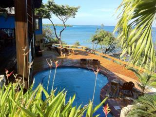 Luxury Ocean front Caribbean Villa, car included - Roatan vacation rentals