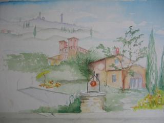 Le Tortore villa with private garden - Monteroni d'Arbia vacation rentals
