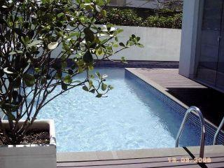Swimming pool - Cute 1 bedroom flat in Jurerê - Florianopolis - rentals