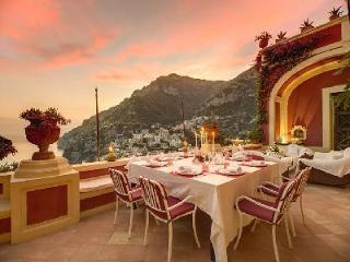 Luxurious Villa Dorata - Enjoy the Sea-View Terrace & Rare Full-Service Private Spa - Campania vacation rentals