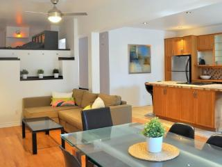 3 BR chic apt : terrace & parking (close to metro) - Montreal vacation rentals