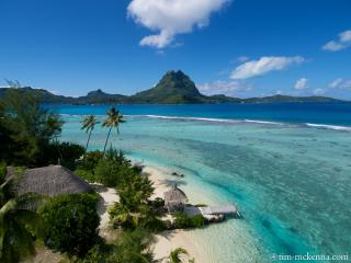 Villa Ahuna the Unique Paradise on Bora Bora - Society Islands vacation rentals