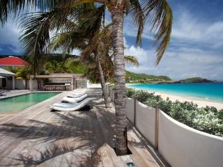 Luxury 6 bedroom St. Barts villa. Private beachfront property! - Flamands vacation rentals