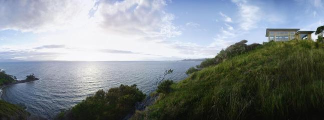 land- and seascape, an Xspot! - deluxe 1-bed eco apartment Tryphena, wide seaviews - Great Barrier Island - rentals