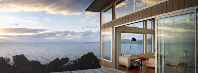 minimal design, maximum views - XSPOT eco-bach for two in Tryphena, wide seaviews - Tryphena - rentals