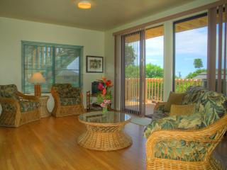 Walk to Poipu Beach, cottage style 1 bdrm with a/c - Poipu vacation rentals