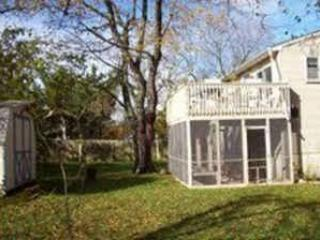 Back of House - Roomy Welcoming Home  in Quiet Neighborhood - Cape May - rentals