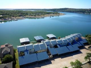 Waterfront Condo and Deep Water Dock & Boat Slip - Spicewood vacation rentals