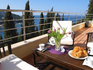 Reve Bleu 2-BR terrace, stunning views & parking! - Dubrovnik vacation rentals