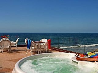 10br oceanfront home, rooftop decks, private spas, sleeps 26! - Fallbrook vacation rentals