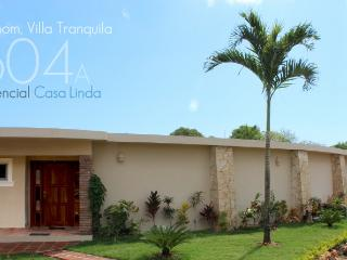 Villa Tranquila, landscaped  for your privacy and enjoyment, with palapa and TVs in main bedrooms!(604a) - Cabarete vacation rentals