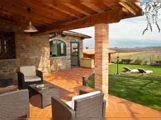 Poggerina luxury private villa with stunning view - Greve in Chianti vacation rentals