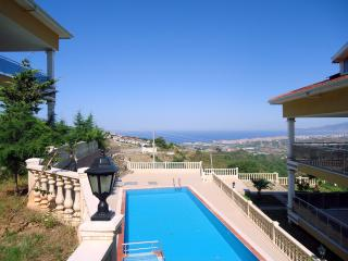 2 bedroom condo: garden, pool and magnificent view - Kargicak vacation rentals