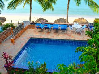 Not 'near the beach'.  We're ON the beach! - Bucerias vacation rentals