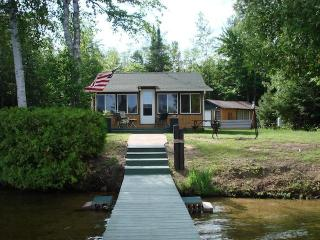 Lakefront Cottage in a Secluded Wilderness Setting - Gwinn vacation rentals