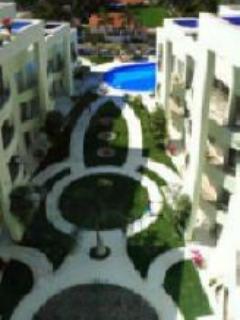 view from solarium, gym and business center - Luxury 2 BR 2.5 BA  Beach Condo $2,900 USD monthly - Nuevo Vallarta - rentals