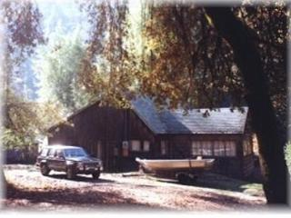 Rustic Cabin with River and Redwoods view - Leggett vacation rentals