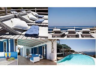 Mykonos ,Breathtaking view, 6-bedroom Luxury Villa - Mykonos vacation rentals