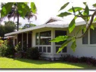 Front yard - Hale Kepani, Elegant convenience to Hilo with wheelchair access - Hilo - rentals