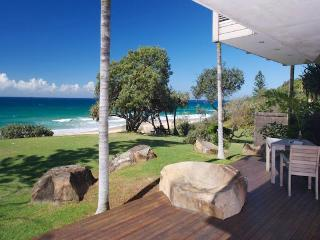 Stunning beachfront designer home on the sand dune - Sunshine Coast vacation rentals
