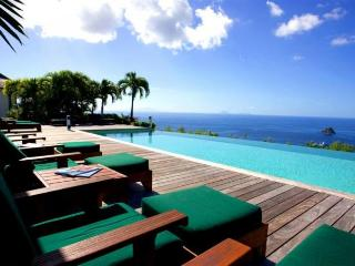 Luxury 5 bedroom St. Barts villa. 270 degrees of ocean and garden views! - Colombier vacation rentals