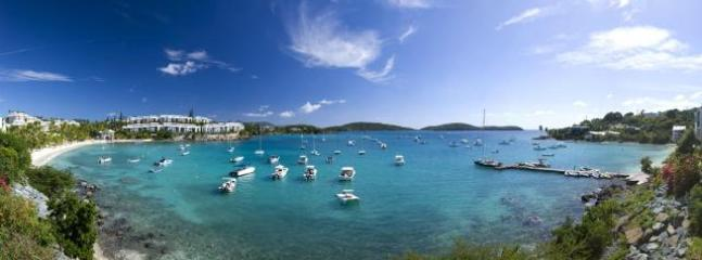 The view from your private patio at VILLAMAR - VILLAMAR, luxury 2 BD condo at COWPET WEST - Saint Thomas - rentals
