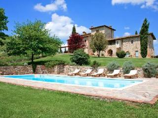 Hillside Villa Il Cerretaccio- restored watch-tower, manicured gardens & pool - Chianti vacation rentals