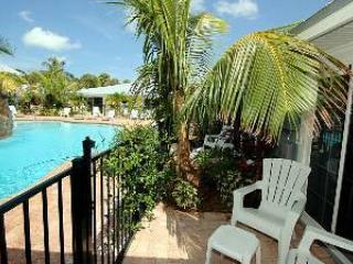 Open Private Patio - Blue Lagoon 1 - Coquina - Holmes Beach - rentals