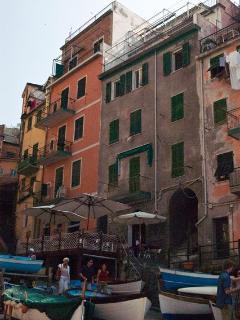 Apartment with Sea View Terrace in Cinque Terre - Riomaggiore vacation rentals